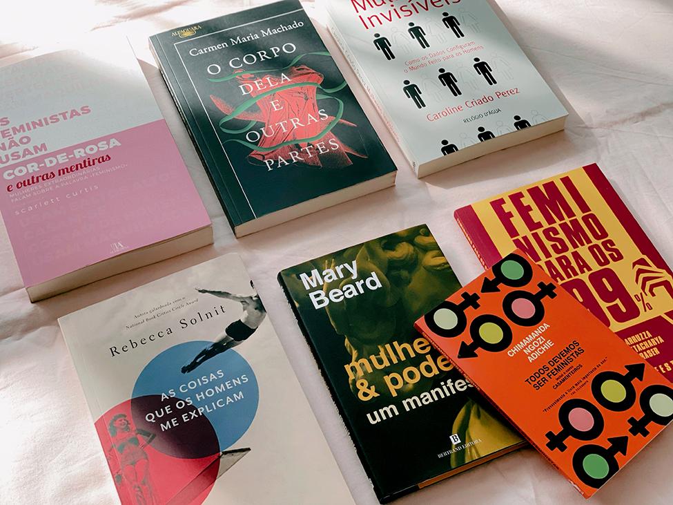 Helena Magalhães: Livros Feministas